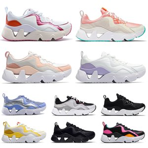 High Quality WMNS RYZ 365 Running Shoes Womens Tennis Trainers Treple White Cut-outs ALL Black fashion Mens Outdoors Sports Sneakers