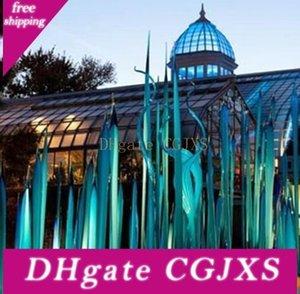 Murano Glass Kamışlar İçin Bahçe Sanat Dekorasyon Custom Made El Üflemeli Cam Heykel 90cm 120cm 150cm