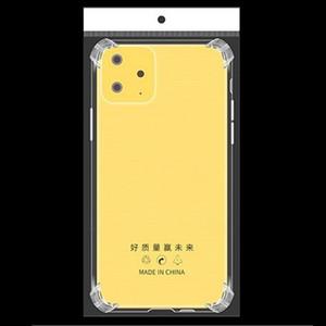 Четыре углас-мешок Air-Bag Anti-Drop мобильный телефон для iPhone 12 11 Pro Max SE 2 2020 XR XS MAX X 7 8 6 S PLUS для Samsung Note20 S20 Ultra