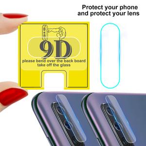 9D Camera Film For Samsung Galaxy A90 A80 A70 A60 M40 A50 A40 A30 A20 A10 A20S A20E Tempered Camera Lens Glass
