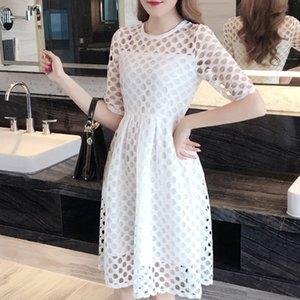 2019 xia ji Qun saia de moda verão emagrecimento vestido 2019 xia ji Qun nova saia vestido de verão nova moda emagrecimento