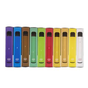 PUFF Barlar Artı atılabilir vape 800 + Puf Kartuş 550mAh Pil 3.2ml Ön Dolgulu Vape kalem Çubuk vape Sigaralar Taşınabilir Buharlaştırıcı