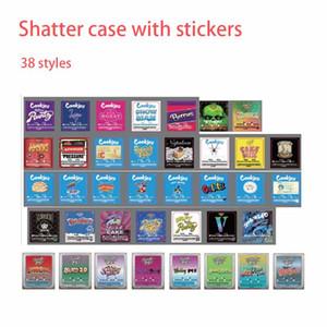 1g Kunststoff SD-Karte Konzentratbehälter Auszüge Runtz Sticky Buns Ether Jungle Jungen Shark Kuchenpresse Napoleon Verpackung Shatter Pack Fall
