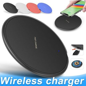 10W Fast Wireless Charger For 11 Pro XS Max XR X 8 Plus USB Qi Charging Pad for Samsung S10 S9 S8 S7 Edge Note 10 with Retail Box