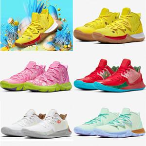 2020 neue Ankunfts-Designer Stern Kyrie 5 Gelb Praktische Basketball-Schuhe Herren Outdoor-Sport-Trainer-Turnschuhe Top-Qualität Runner Schuhe