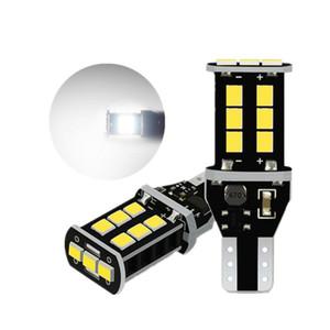2pcs T16 T15 Led Canbus 921 W16W LED Bulb Car Backup Reverse Light for VW B6 B7 B8 B5 CC Eos Beetle