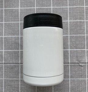 De vacío de acero inoxidable 12 oz sublimación cola de la cerveza puede refrigerador de doble pared Mantenga titular frío o caliente Copa