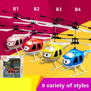 Led Rc Helicopter Flying Induction Led Noctilucent Ball Quadcopter Drone Sensor Up Grade Infrared Induction Flying Childrenwithout Controlle