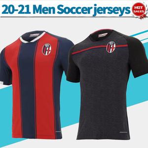 2021 chemises troisième de football à domicile jersey Bologne 20/21 chemises de soccer d'homme à manches courtes chemises de football personnalisé