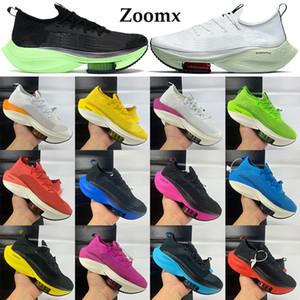 2020 Zoomx Alpha nuovo volo successivo% scarpe delle donne degli uomini in maglia a rete Sneakers anguria nera elettrica verde volt allevati turistici Trainers gialla che funziona