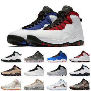 nike air jordan retro 10 10s 10 10S يستبروك فئة من 2006 JUMPMAN للأحذية الرجال أحذية رياضية RETRO OG كرة السلة المصلح WINGS الصحراء البيضاء كامو في الهواء الطلق المدربين من 7-13