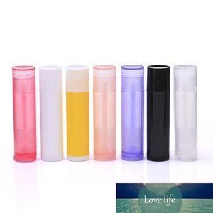 5ML 5G DIY Empty Colorful Transparent Lip Balm Lipstick Cream Tube Bottle Mouth Lip Balm Stick Sample Cosmetic Container