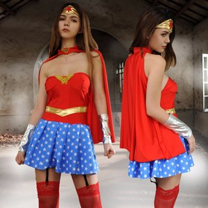 estágio am3l5 Halloween Acting role-playing sexy uniforme COSPLAY 3 Halloween Superman traje Acting fase roupas vestuário custo role-playing