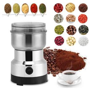 150W aço inoxidável de aço do moedor de café do bean moinho elétrico mini ferramenta de cozinha