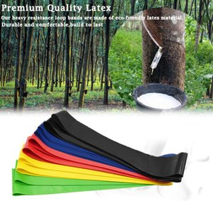 Elastic Yoga Rubber Resistance Assist Bands Gum for Fitness Equipment Exercise Band gym Workout Pull Rope Stretch Cross Training band