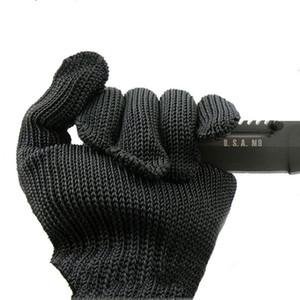 Guanti tagliati di sicurezza 1 opera Mesh Gloves anti-taglio del nastro metallico in acciaio inox Protezione traspirante prova Coppia outdoors2009 DCHsl