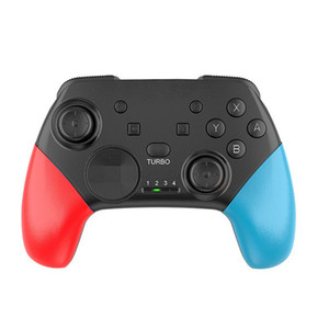 5 ألوان بلوتوث اللاسلكية تحكم gamepad عصا التحكم لعبة وسادة صدمة مزدوجة تحكم للكمبيوتر / جهاز الروبوت / nitendo تبديل وحدة التحكم
