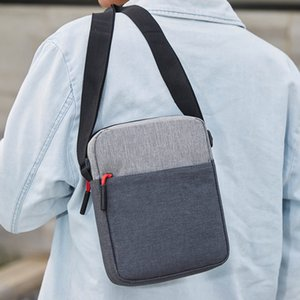 Moda Durable Men Waterproof Shoulder Bag bolsos portáteis Theft Anti grande capacidade Outdoor Messenger Bags