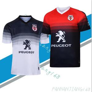 스타드 Toulousain 2,019에서 2,020 사이 성인 슈퍼 럭비 저지 르 스타드 셔츠 툴루즈 마이 Camiseta MAGLIA는 Trikot Camisas 키트 탑