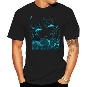 Отпечатано Ahegao Men T Shirt Фитнес Увеличенные S-5XL Anti-Wrinkle Мужские футболки Hiphop Tops