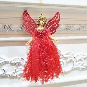 Decoração do anjo bonito do Natal com corda pendurada árvore de Natal Portátil decoração decorações de Natal barato online Christma baratos g4wg #