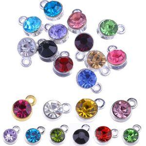 Vente directe d'usine Nouveau pendentif en cristal grosseurs Charms bricolage main Accessoires de bijoux 19 couleurs pour les choix