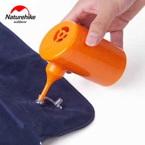Naturehike inflável portátil ser bomba de ar de energia / carro chargable para camping colchão NH17C100-B