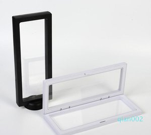 Collana PET Accessori membrana Jewelry Display 3D Packaging Box Bague Gioielleria Presentazione del basamento della cremagliera 9 * 23cm SN3065