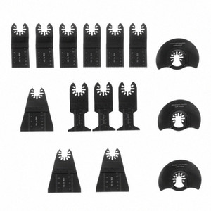 15pcs set Oscillating Multitool Saw Blade High Carbon Steel Cutting Blades for Power Tool s0pn#