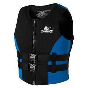 팽창 생존 원조 인명 구조 부동 생활 안전 자켓 PFD 생명 조끼 팽창 인명 천 노 슬리브 조끼 재킷