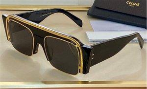 Nuovo disegno di modo occhiali da sole 4046O grande cornice cat-eye, piena di effetto tridimensionale, semplice e top stile popolare UV400 protezione