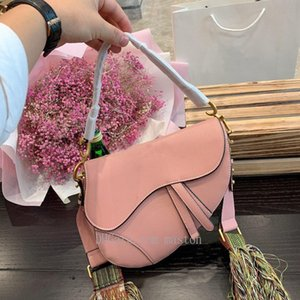 neue Brief Umhängetasche Qualität Leder Kuriertasche Satteltasche cd hochwertige Handtasche neuer Damen mit Box 2020 J96a #