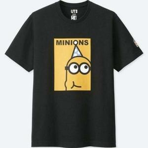 Minion uniqlos Medium Despicable Me New versiegelt mit Tags Männer-T-Shirt Valentines Geschenk