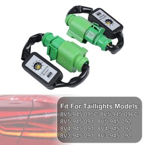 Ligue 2pcs dinâmico sinal indicador LED Taillight Add-on Module Cabo Fio para A3 8V