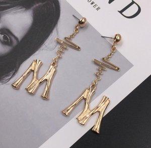 drop letter earrings women earring dangle exaggerated earring saudi gold jewelry boho jewelry fashion earrings jewelry