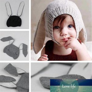 INS Children's hat innovative animal modeling ears knit hat Warm cap baby autumn and winter hat TO975