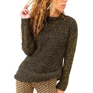 VICABO Womens Sweartes O-pescoço manga comprida Casual Knitting capuz senhoras Aqueça Camisolas Roupa mulher Autumn Camisolas