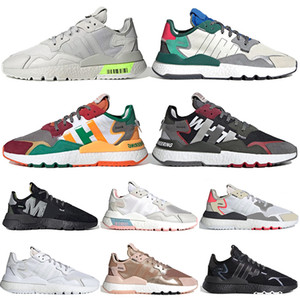 ultraboost nite jogger gel asics off white Zapatillas deportivas unisex de la marca 3M Reflective Zapatillas de deporte de triple color negro, todas blancas