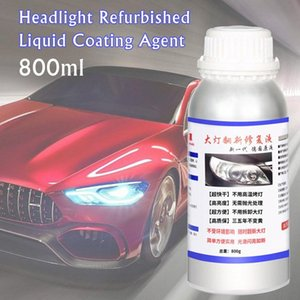 800ml Car Headlight Repair Kit Headlight Refurbished Liquid Coating Agent Automotive Repair Equipment LjxN#