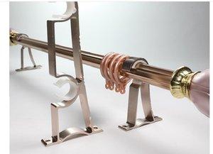 2020 hot sale Luxury silence Rome bar Good load bearing Bold thickening aluminium alloy window curtains Single pole