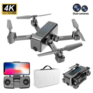 H5 Drone WiFi FPV RC Drone 4K Camera Folding Optical Flow Drone 5G 2.4G GPS Wide-angle Real Time Aerial Helicopter Quadcopter