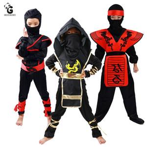 Traje de Halloween Ninjago para los trajes niños de lujo Dr. Hasta Anime Cosplay disfraces de Ninja