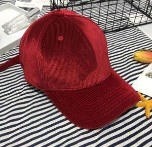 Casquillos para hombre de la moda gorra de béisbol sombreros de las mujeres Beanie béisbol para mujer de los hombres de alta calidad de Gorra Sombrero de 6 estilos opcionales