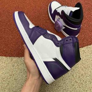 2020 nueva manera de los hombres de lujo diseñador de zapatos de los zapatos de baloncesto luxe de seguridad blanco plataforma de estrella púrpura zapatillas de deporte Sneake alta superior zapatos para correr