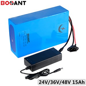 13S 48V 15Ah 750W electric bicycle battery pack 7S 24V E-bike 10S 36V 350W Lithium ion 18650 +2A charger