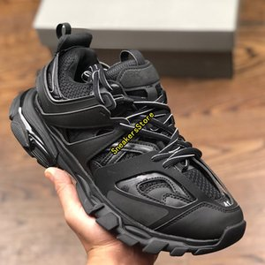 2020 Rilascio TRIPLE-S Clunky Sneaker 3.0 Tess Gomma Maille Jogging Men Donne Casual Dad Shoes Sport Sneaker 35-45 con scatola