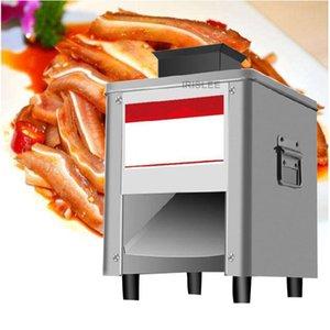 2020 Электрический Meat Cutter Desktop Коммерческая Полностью автоматическая Shredder Slicer Dicing машина Мясорубка Dicing машина