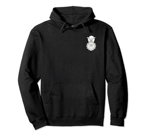 Air Force Security Forces Defensor Fortis Badge Patch Hoodie