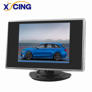 XYCING New 3.5 inch Car Monitor Vehicle Rear View Monitor for Reverse Backup Rearview Camera