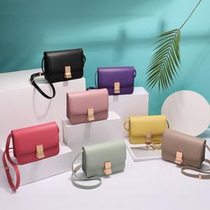 2020 весной и летом новые Женская сумка Классический площади сумка Box сумка Стюардесса плеча / Crossbody площади Sling моды